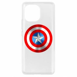 Чехол для Xiaomi Mi11 Captain America 3D Shield