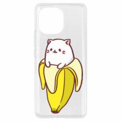 Чехол для Xiaomi Mi11 Cat and Banana