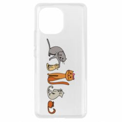 Чехол для Xiaomi Mi11 Cat family