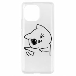 Чехол для Xiaomi Mi11 Cheerful kitten