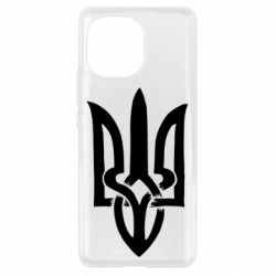 Чехол для Xiaomi Mi11 Coat of arms of Ukraine torn inside