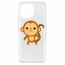 Чехол для Xiaomi Mi11 Colored monkey