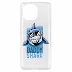 Чохол для Xiaomi Mi11 Daddy shark
