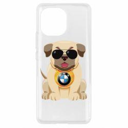 Чохол для Xiaomi Mi11 Dog with a collar BMW