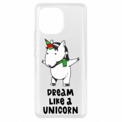 Чехол для Xiaomi Mi11 Dream like a unicorn