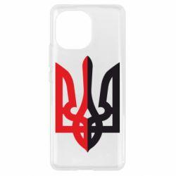 Чохол для Xiaomi Mi11 Двокольоровий герб України