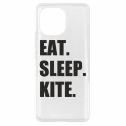Чохол для Xiaomi Mi11 Eat, sleep, kite