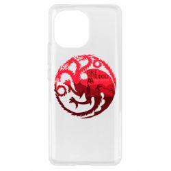 Чехол для Xiaomi Mi11 Fire and Blood