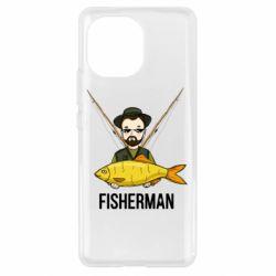 Чохол для Xiaomi Mi11 Fisherman and fish