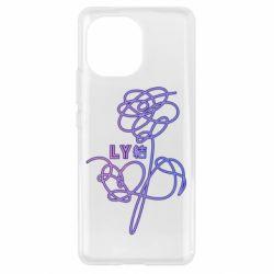 Чохол для Xiaomi Mi11 Flowers line bts