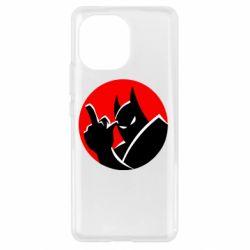 Чехол для Xiaomi Mi11 Fuck Batman