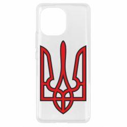 Чохол для Xiaomi Mi11 Герб України (двокольоровий)