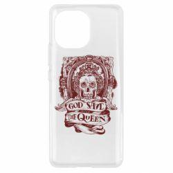 Чохол для Xiaomi Mi11 God save the queen monochrome