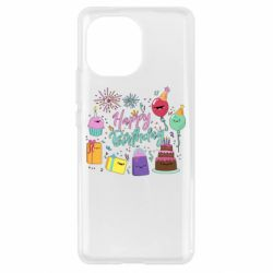 Чохол для Xiaomi Mi11 Happy Birthday