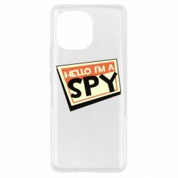 Чохол для Xiaomi Mi11 Hello i'm a spy