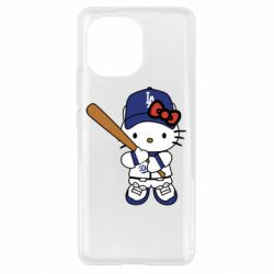 Чохол для Xiaomi Mi11 Hello Kitty baseball