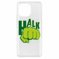Чехол для Xiaomi Mi11 Hulk fist