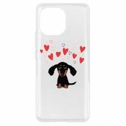Чохол для Xiaomi Mi11 I love dachshund