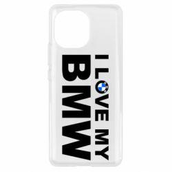 Чохол для Xiaomi Mi11 I love my BMW