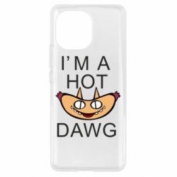Чехол для Xiaomi Mi11 Im hot a dawg