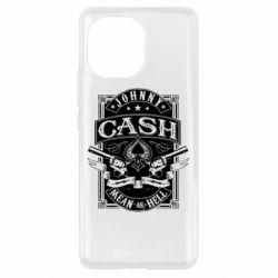 Чохол для Xiaomi Mi11 Johnny cash mean as hell