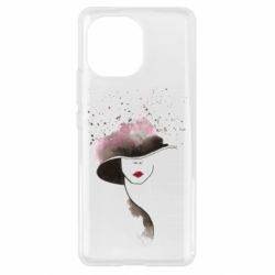 Чехол для Xiaomi Mi11 Lady in a hat