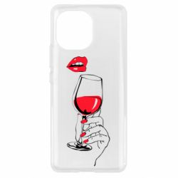 Чохол для Xiaomi Mi11 Lady is drinking