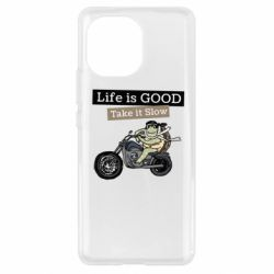 Чохол для Xiaomi Mi11 Life is good, take it show