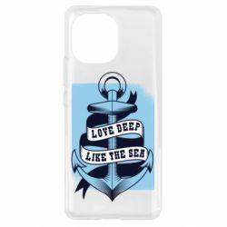 Чохол для Xiaomi Mi11 Love deep like the sea