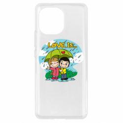Чохол для Xiaomi Mi11 Love is ... in the rain