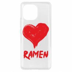 Чохол для Xiaomi Mi11 Love ramen