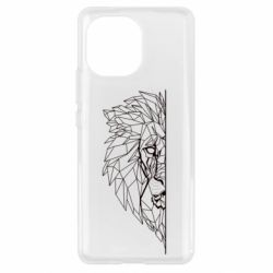Чохол для Xiaomi Mi11 Low poly lion head