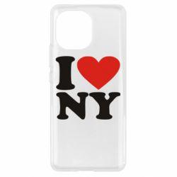 Чохол для Xiaomi Mi11 Люблю Нью Йорк
