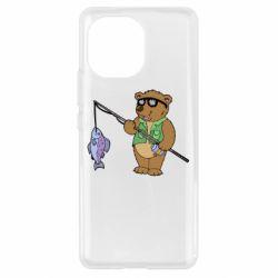 Чохол для Xiaomi Mi11 Ведмідь ловить рибу