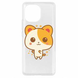 Чехол для Xiaomi Mi11 Милая кися