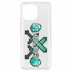 Чохол для Xiaomi Mi11 Minecraft алмазний меч