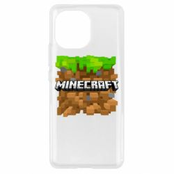 Чохол для Xiaomi Mi11 Minecraft Main Logo