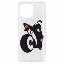 Чохол для Xiaomi Mi11 Мотоцикліст на спорті