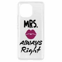 Чохол для Xiaomi Mi11 Mrs. always right