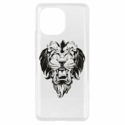 Чохол для Xiaomi Mi11 Muzzle of a lion