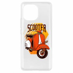 Чохол для Xiaomi Mi11 Orange scooter