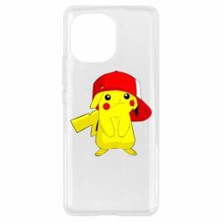 Чехол для Xiaomi Mi11 Pikachu in a cap