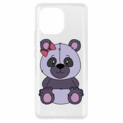 Чохол для Xiaomi Mi11 Purple Teddy Bear