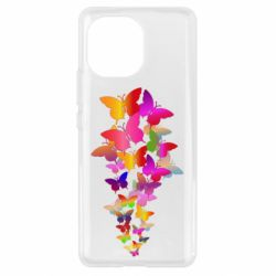 Чохол для Xiaomi Mi11 Rainbow butterflies