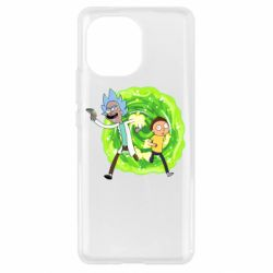 Чохол для Xiaomi Mi11 Rick and Morty art