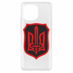Чехол для Xiaomi Mi11 Shield with the emblem of Ukraine and the sword