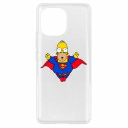 Чехол для Xiaomi Mi11 Simpson superman