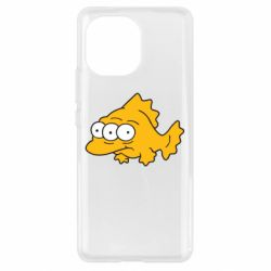 Чехол для Xiaomi Mi11 Simpsons three eyed fish