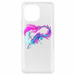 Чохол для Xiaomi Mi11 Sisu Water Dragon