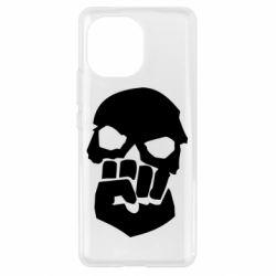 Чехол для Xiaomi Mi11 Skull and Fist